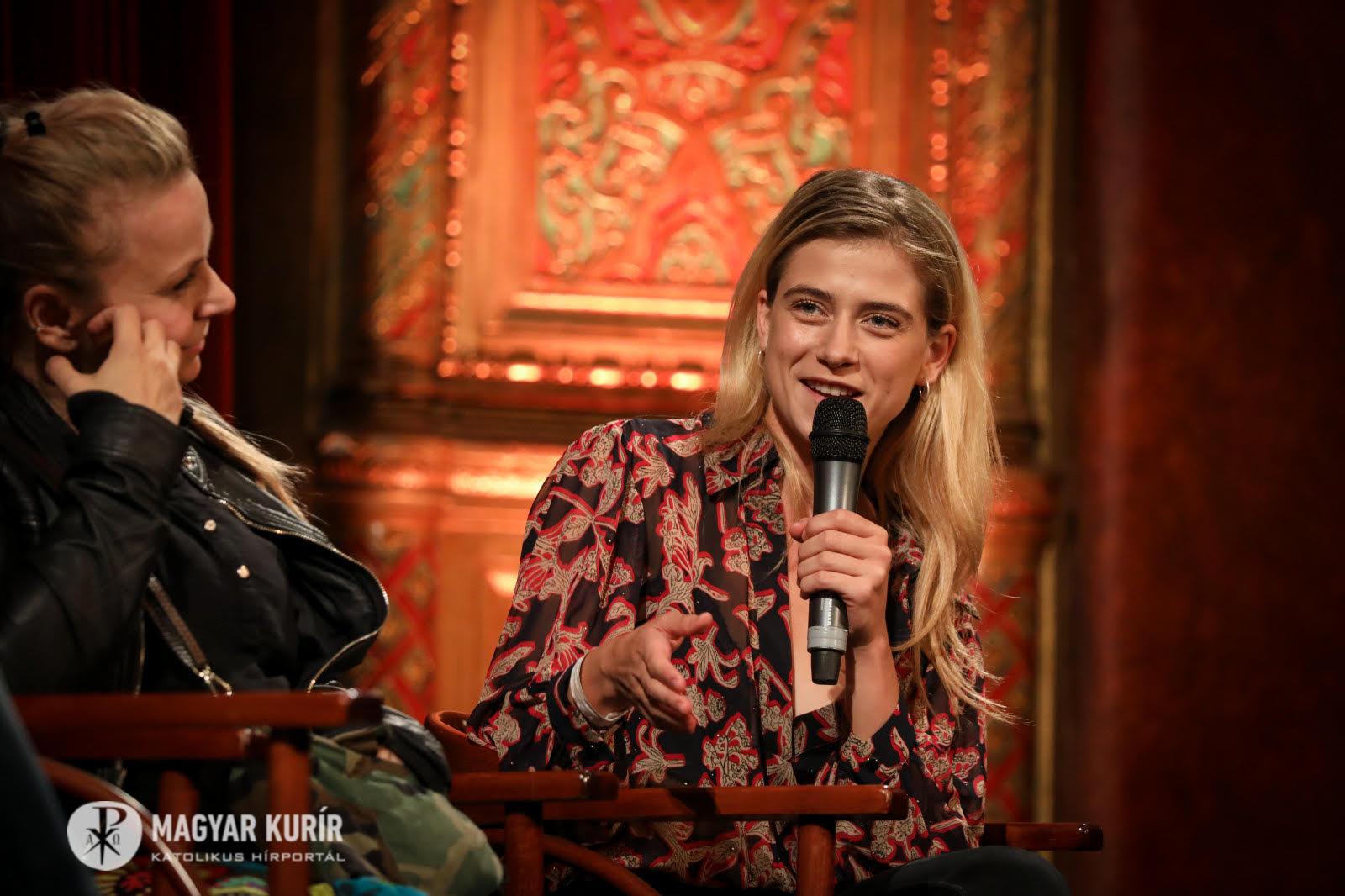 Magdolna budapesti bemutató, közönségtalálkozóval